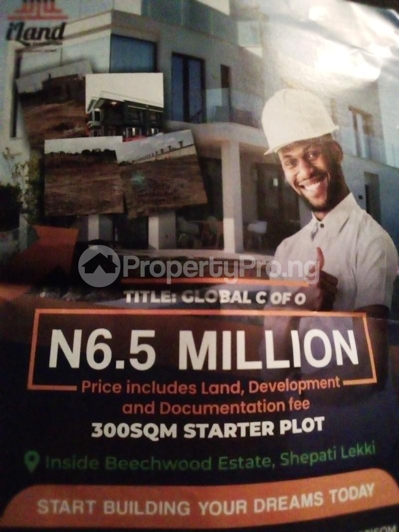 Serviced Residential Land Land for sale Inside Beachwood Estate, Shepati, Lekki  LBS Ibeju-Lekki Lagos - 0