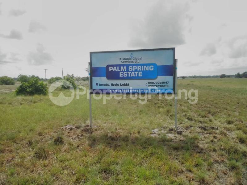 Residential Land Land for sale Ibeju-Lekki Orimedu Ibeju-Lekki Lagos - 2