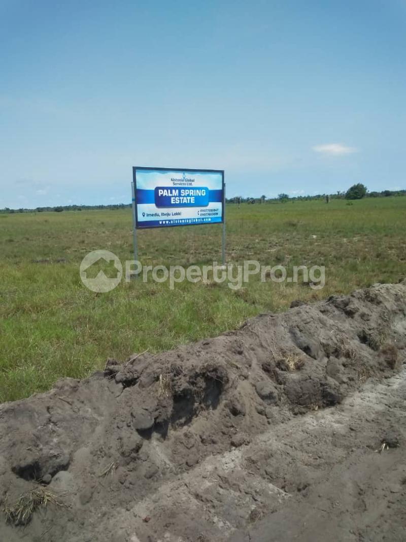 Residential Land Land for sale Ibeju-Lekki Orimedu Ibeju-Lekki Lagos - 0