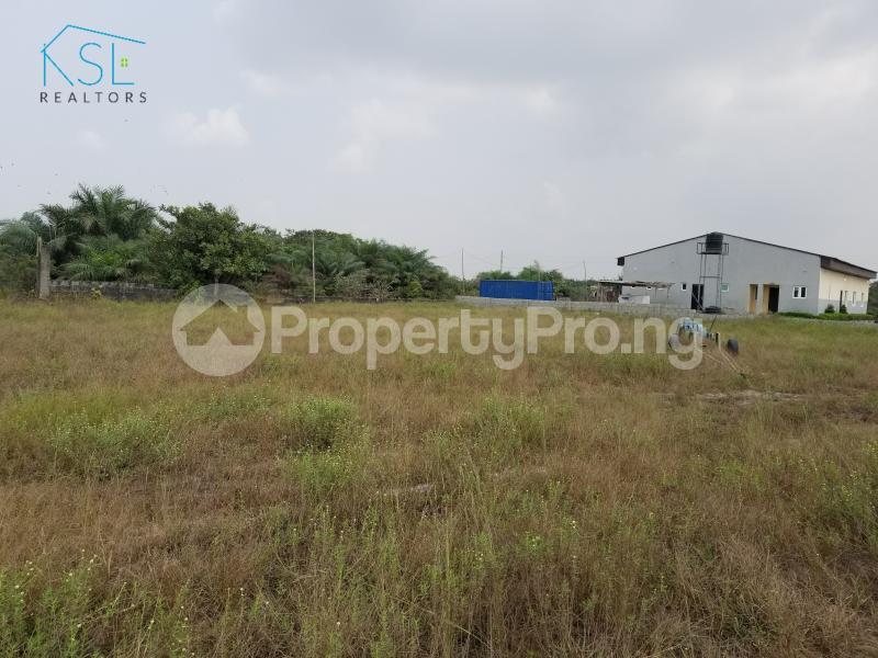 Land for sale inside peak park apartments awoyaya Awoyaya Ajah Lagos - 5