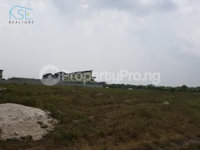 Land for sale inside peak park apartments awoyaya Awoyaya Ajah Lagos - 1