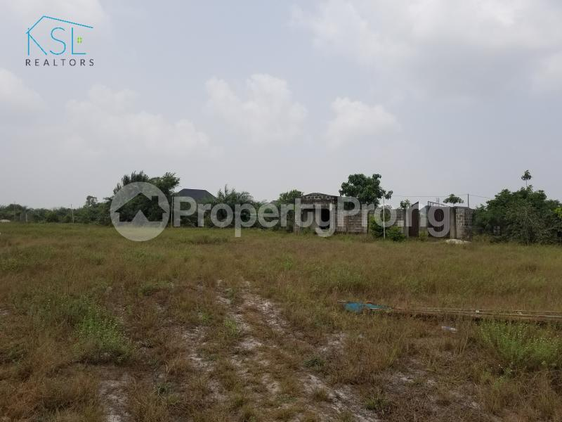 Land for sale inside peak park apartments awoyaya Awoyaya Ajah Lagos - 2