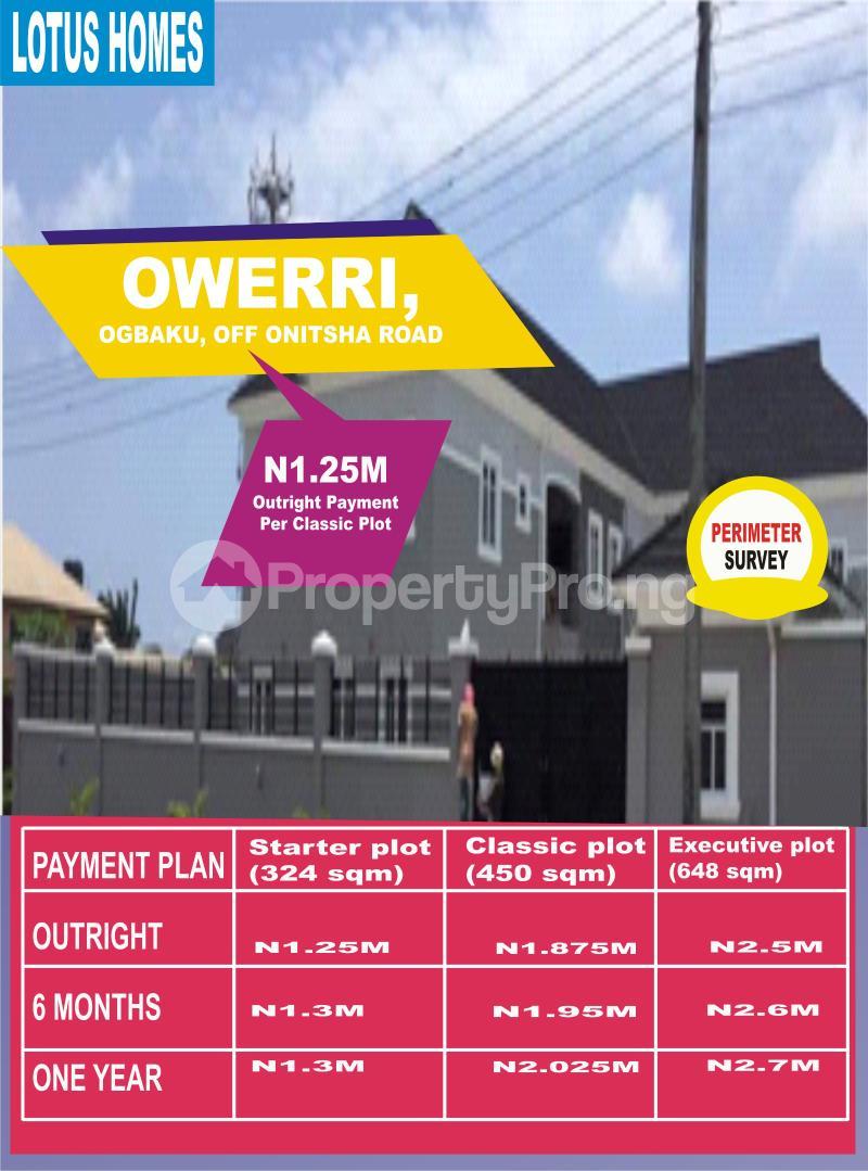 Mixed   Use Land Land for sale Ogbaku, Off Onitsha Road Onitsha North Anambra - 0