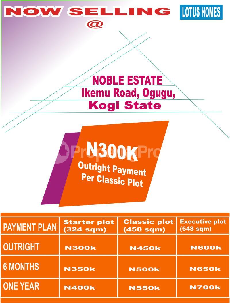 Mixed   Use Land Land for sale Ikemu Road, Ogugu,  Olamabolo Kogi - 0