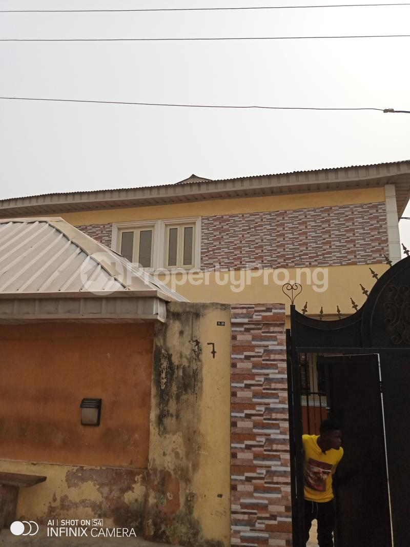 3 bedroom Blocks of Flats House for rent Ogba off Ajayi road Ali street. Ajayi road Ogba Lagos - 0