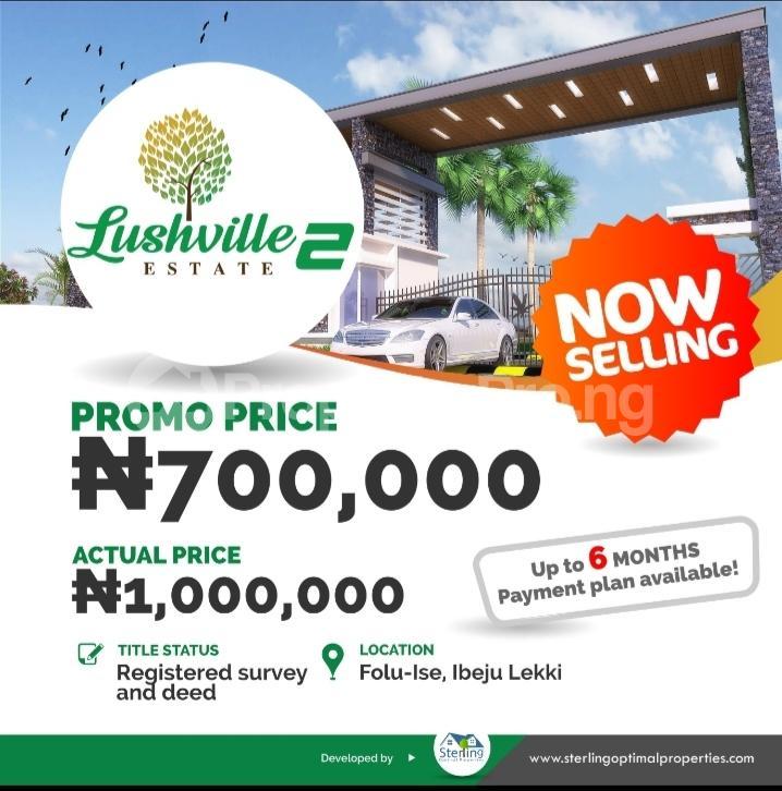 Mixed   Use Land Land for sale Ikegun Ibeju-Lekki Lagos - 2