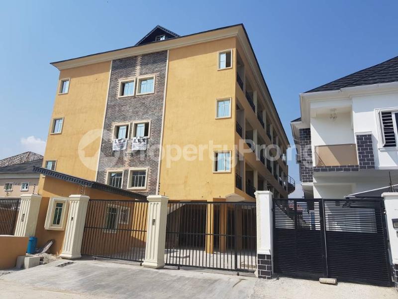 2 bedroom Block of Flat for rent Adebambi chevron Lekki Lagos - 1