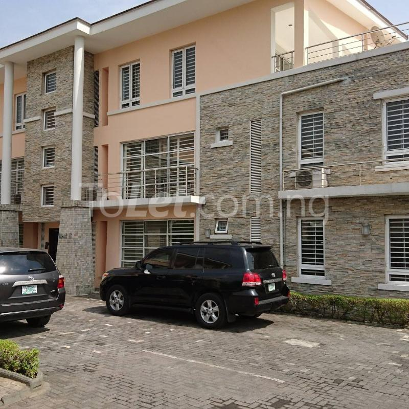 3 bedroom Flat / Apartment for rent Ogun Street  Osborne Foreshore Estate Ikoyi Lagos - 0