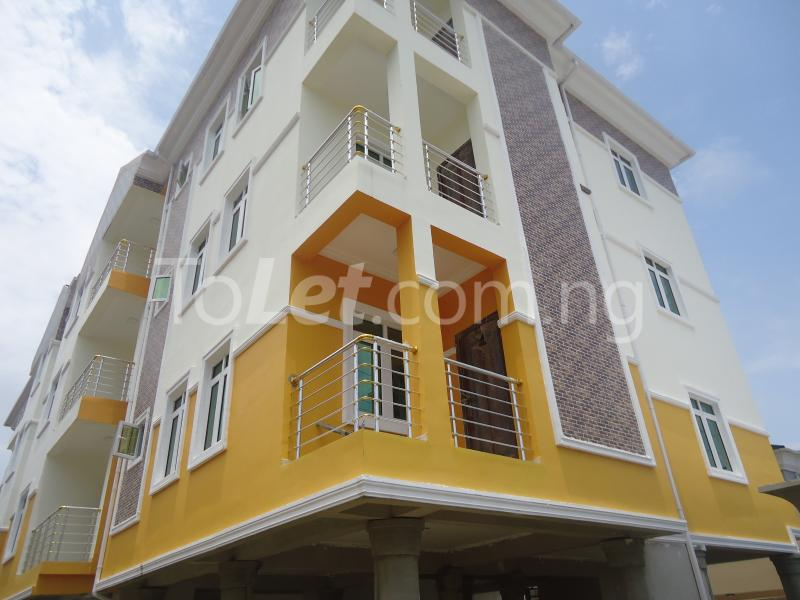 3 bedroom Blocks of Flats House for rent Off Kusela Road Lekki Lagos - 0