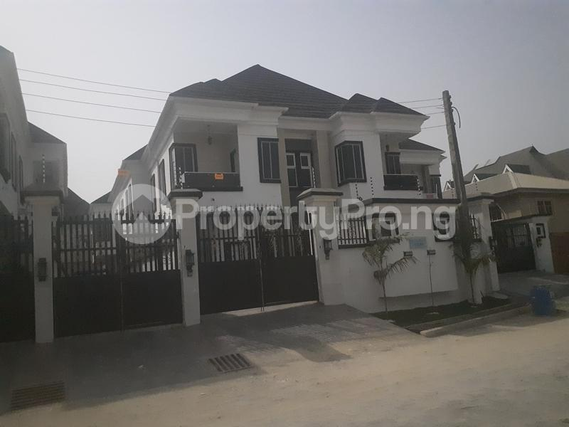 4 bedroom Semi Detached Duplex House for sale chevy view estate  chevron Lekki Lagos - 0