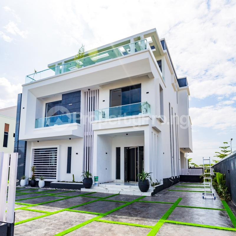 5 bedroom Detached Duplex House for sale Pinnock Beach Estate Osapa london Lekki Lagos - 4