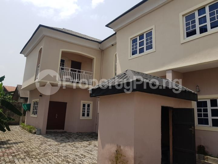 4 bedroom Semi Detached Duplex House for rent Word of life chapel Rumuibekwe estate Port-harcourt/Aba Expressway Port Harcourt Rivers - 9