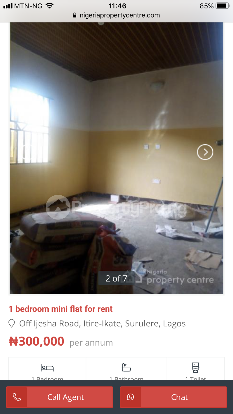 1 bedroom mini flat  Mini flat Flat / Apartment for rent Ora estate Epe  Epe Road Epe Lagos - 4