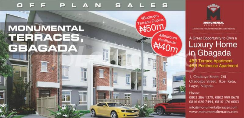 4 bedroom House for sale - Millenuim/UPS Gbagada Lagos - 1