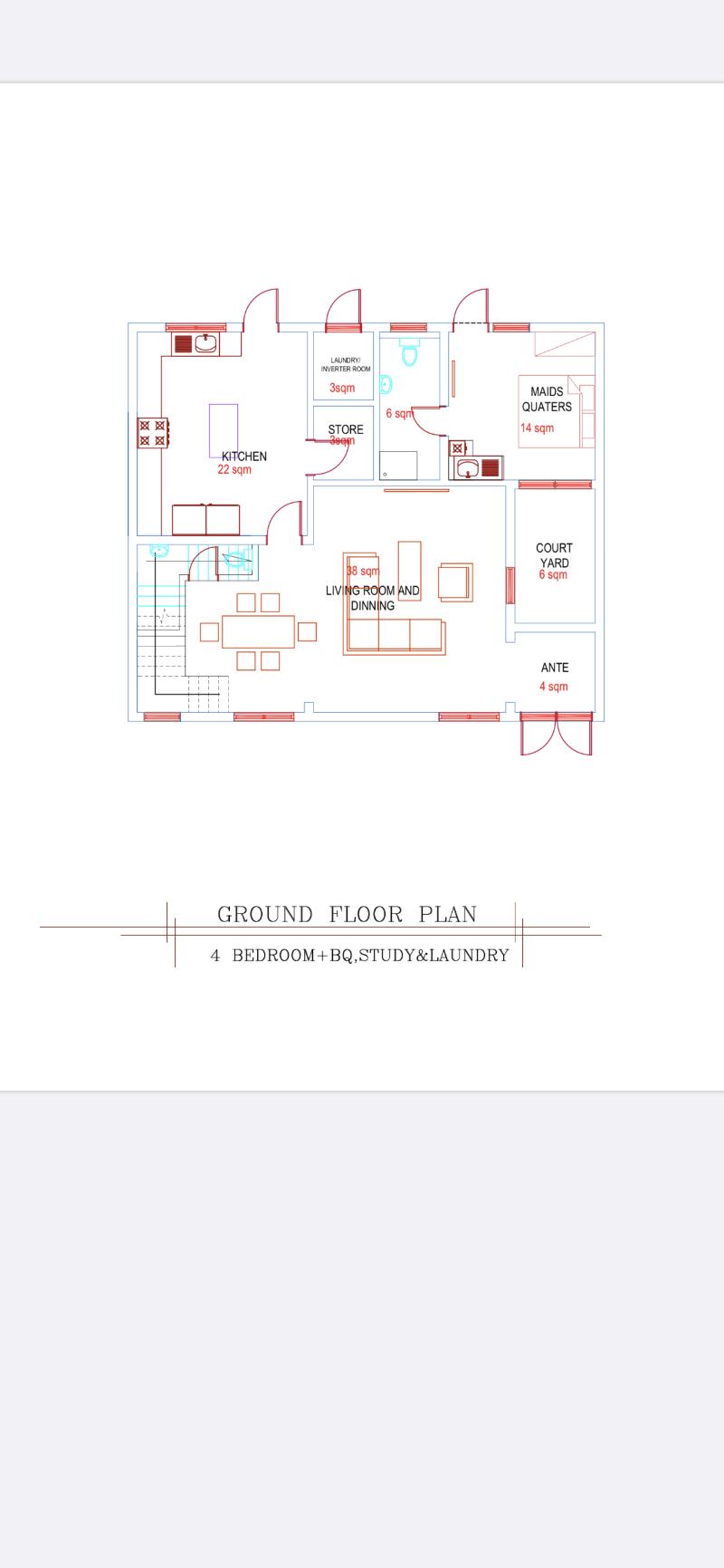 4 bedroom Terraced Duplex House for sale Life Camp Abuja - 0