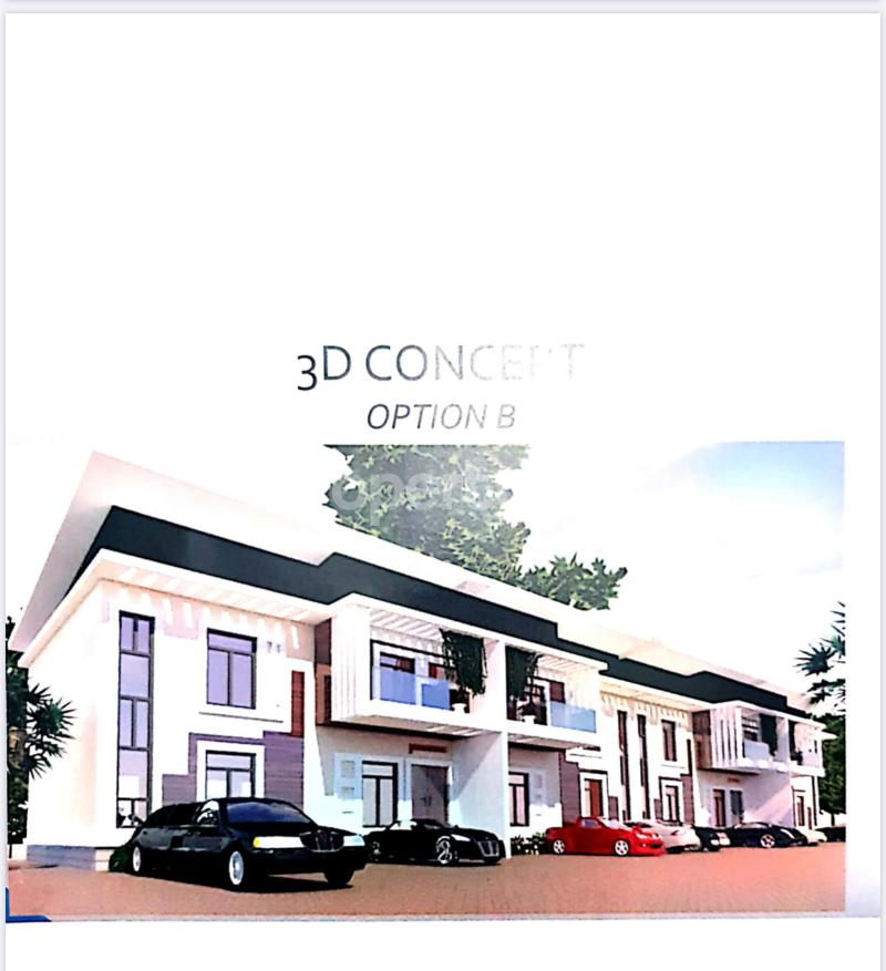 4 bedroom Terraced Duplex House for sale Life Camp Abuja - 3