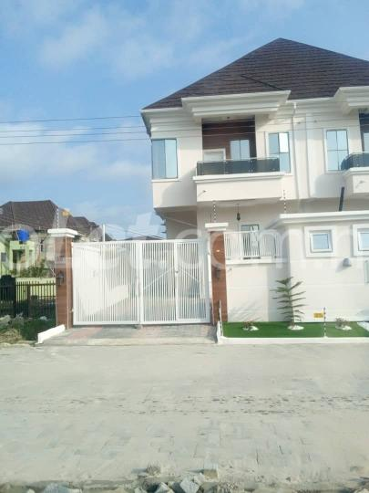 4 bedroom House for rent David ovie street Idado Lekki Lagos - 1