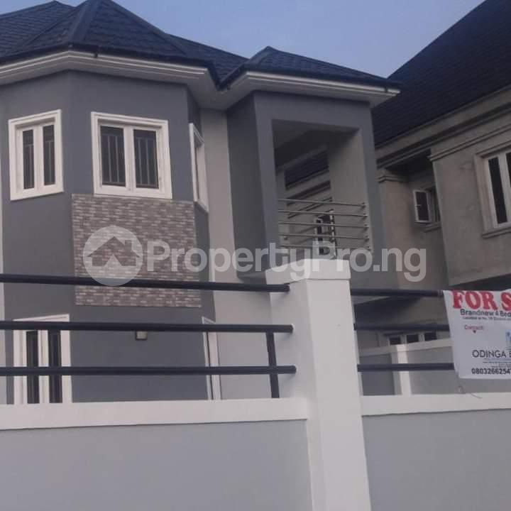 4 bedroom Detached Duplex House for sale Peter Odili Trans Amadi Port Harcourt Rivers - 1
