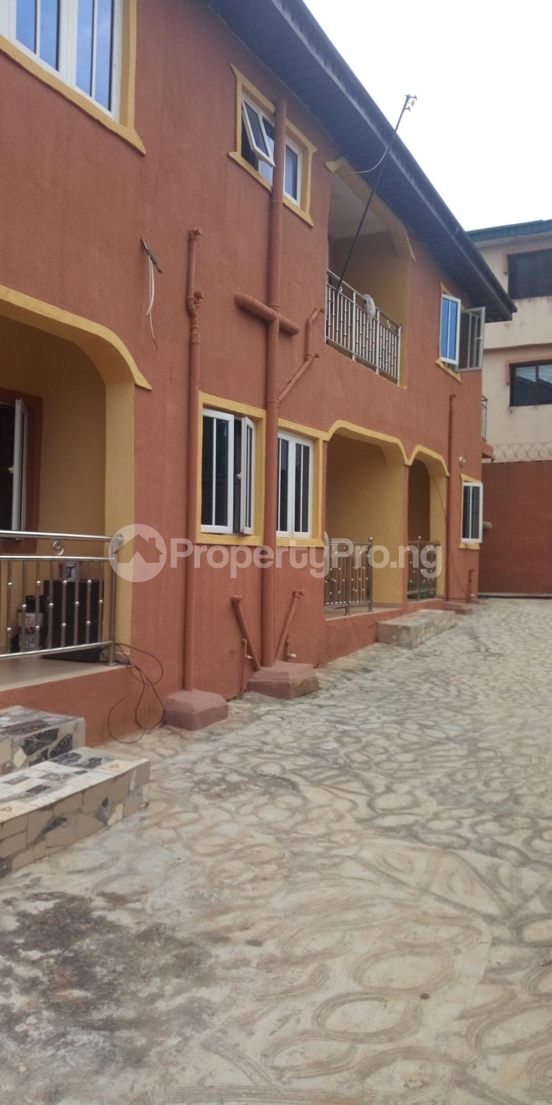 2 bedroom Blocks of Flats House for rent White House COMAND IPAJA road Lagos  Ipaja road Ipaja Lagos - 0