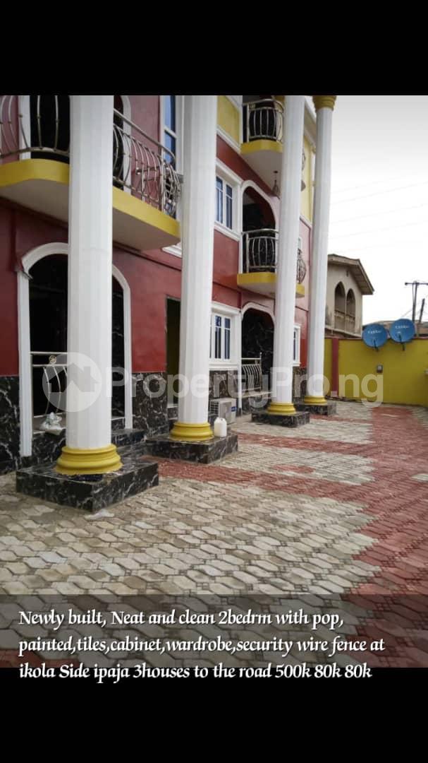 2 bedroom Flat / Apartment for rent Ikola off command road Ipaja road Ipaja Lagos - 1