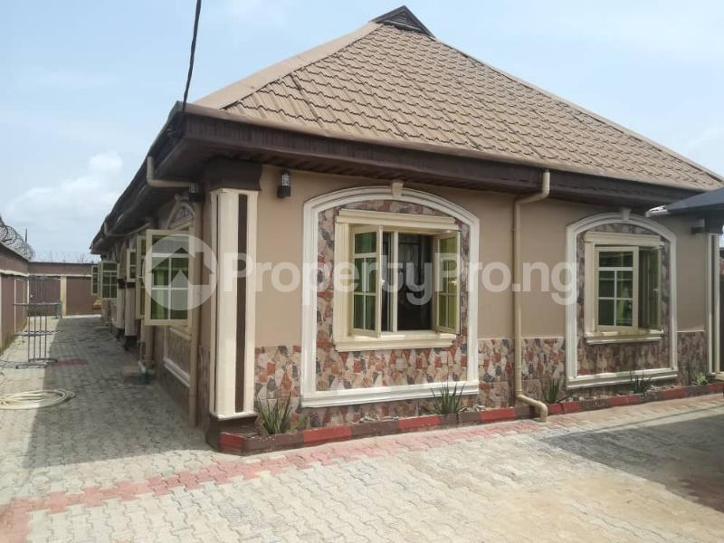3 bedroom Terraced Bungalow House for sale Agbe road,abule egba. Abule Egba Abule Egba Lagos - 1