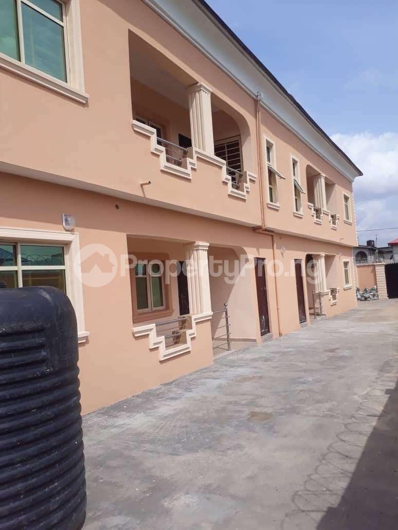 3 bedroom Flat / Apartment for rent New Oko Oba Abule egba Lagos  Abule Egba Abule Egba Lagos - 1