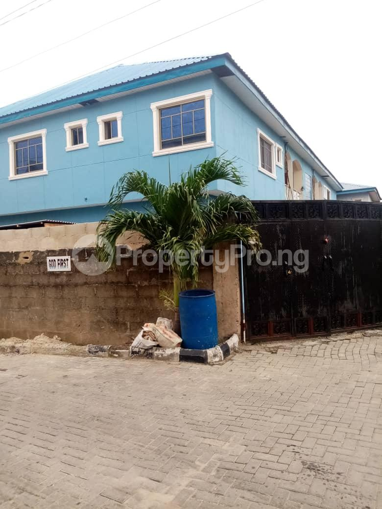 3 bedroom Flat / Apartment for rent Estate  Millenuim/UPS Gbagada Lagos - 1