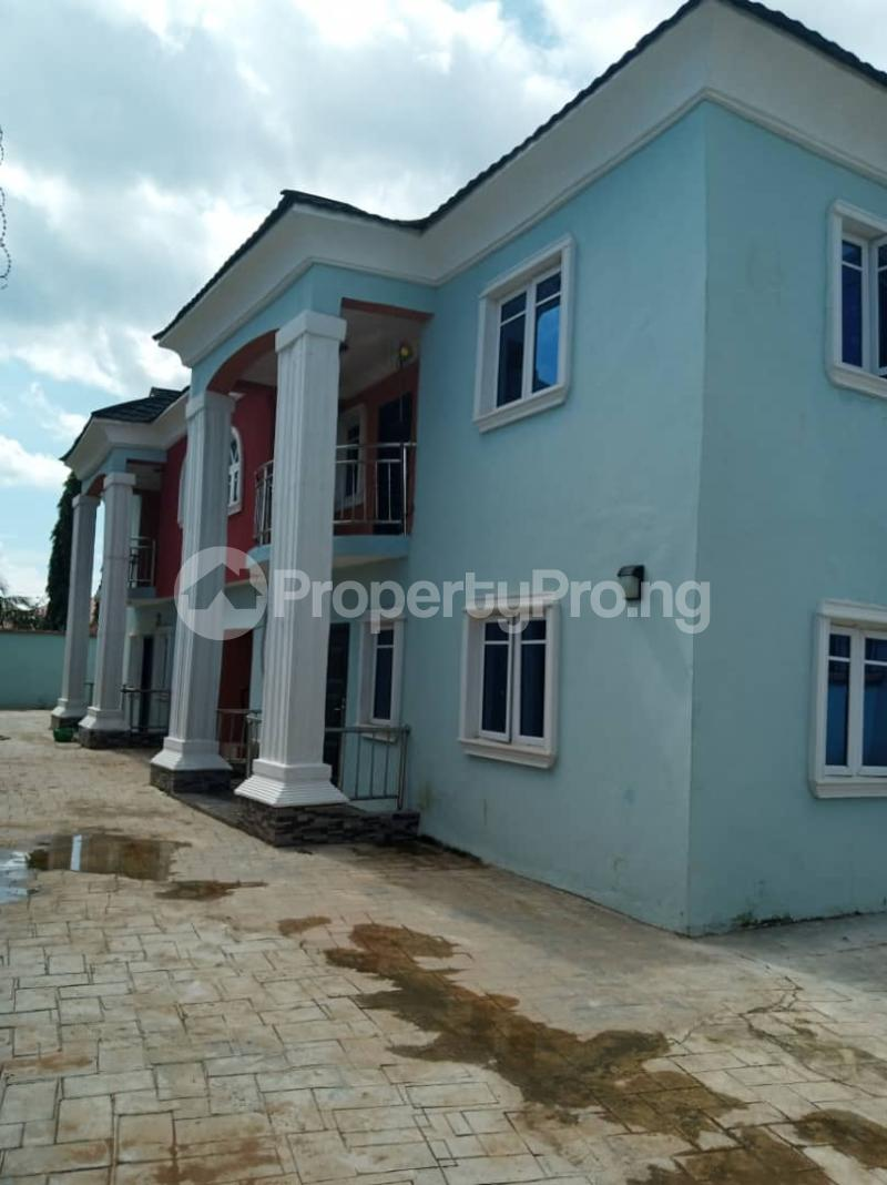 3 bedroom Blocks of Flats House for rent Okebukun Area Behind Icast Elebu  Akala Express Ibadan Oyo - 0