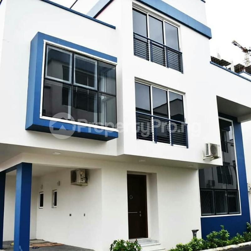 4 bedroom Semi Detached Duplex House for sale In a Mini-Estate by Bourdillon Road, Old Ikoyi, Lagos. Bourdillon Ikoyi Lagos - 0