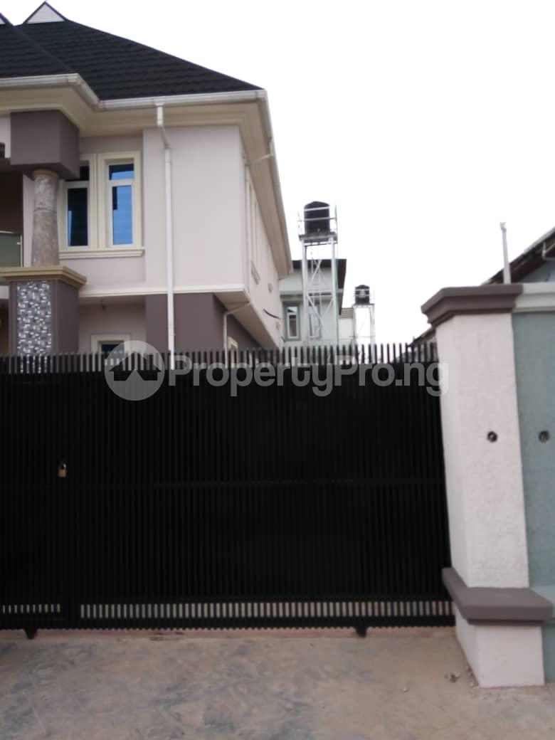 4 bedroom Detached Duplex House for sale Dideolu, Estate  Ogba Bus-stop Ogba Lagos - 1
