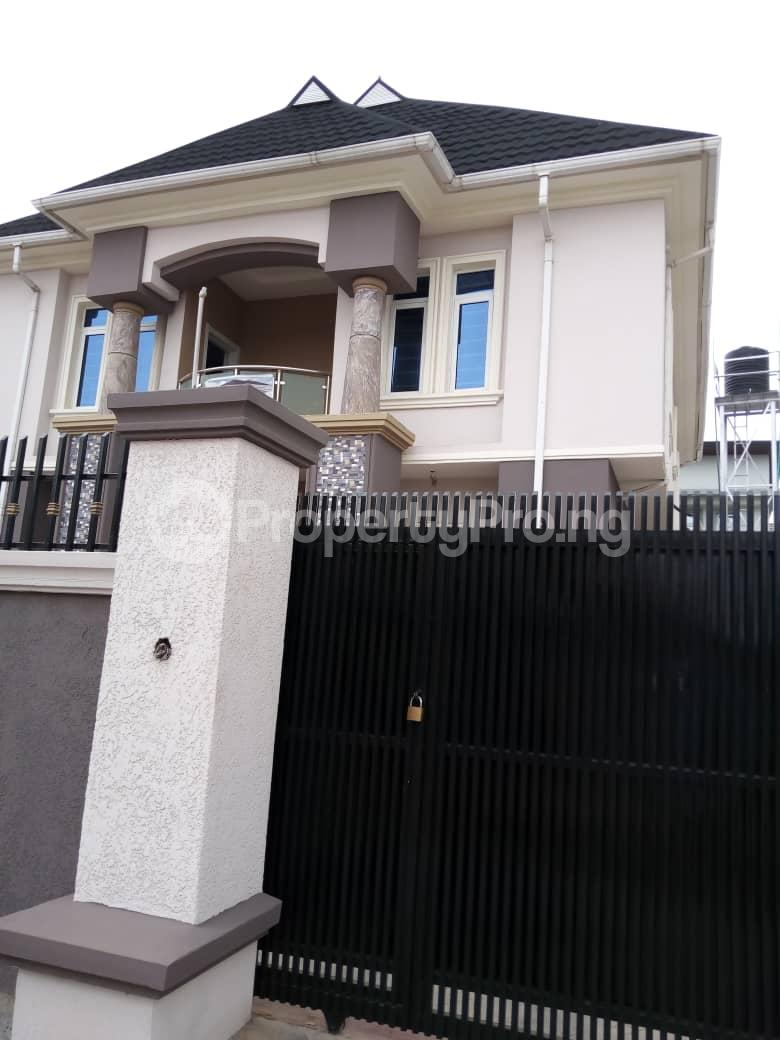 4 bedroom Detached Duplex House for sale Dideolu, Estate  Ogba Bus-stop Ogba Lagos - 2