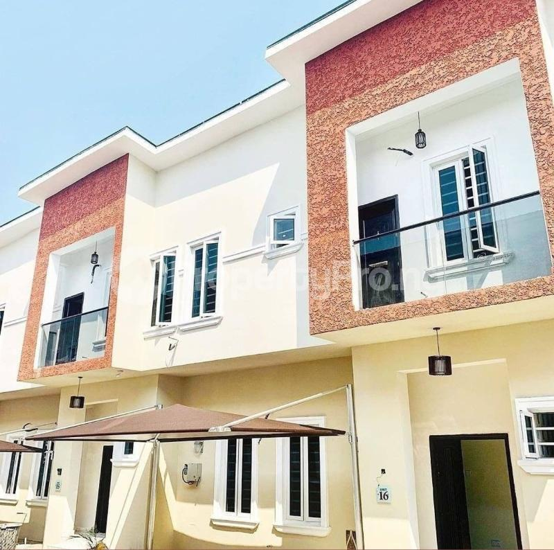 4 bedroom Terraced Duplex House for rent Orchid road, By second toll gate lekki Lekki Lagos - 1