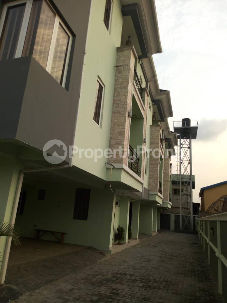 4 bedroom Terraced Duplex House for sale Off Marsha street Kilo-Marsha Surulere Lagos - 0