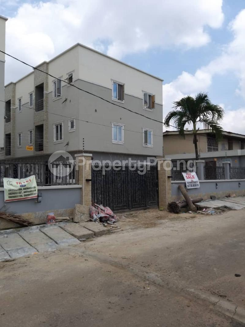 5 bedroom Terraced Duplex House for sale 4 Gbolagade Adebanjo Street, Coker Road Ilupeju Lagos - 0
