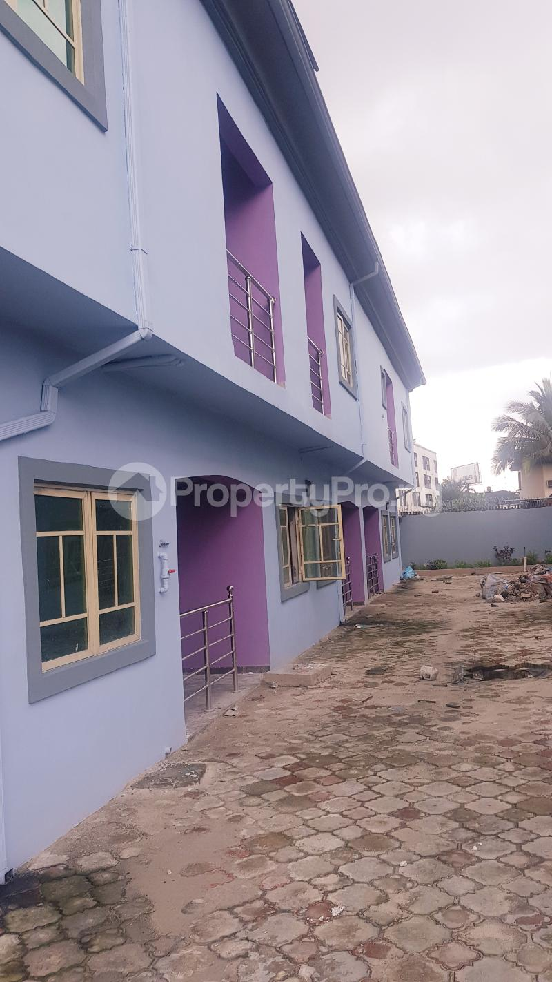3 bedroom Terraced Duplex House for rent Stadium road close to Charlie's gym  New GRA Port Harcourt Rivers - 1