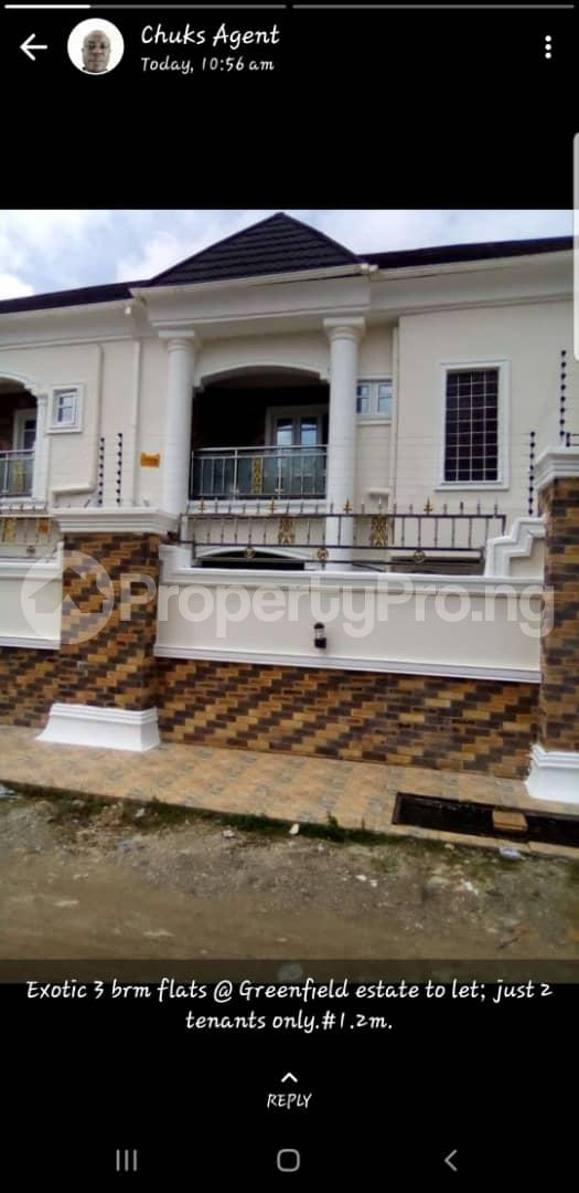 3 bedroom Flat / Apartment for rent Green Field Estate Ago palace Okota Lagos - 0