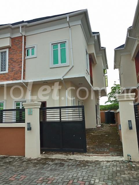 4 bedroom Semi Detached Duplex House for rent Ologolo road Ologolo Lekki Lagos - 0