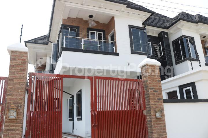 4 bedroom Semi Detached Duplex House for sale Canal West Estate Osapa london Lekki Lagos - 2