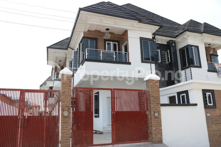 4 bedroom Semi Detached Duplex House for sale Canal West Estate Osapa london Lekki Lagos - 1