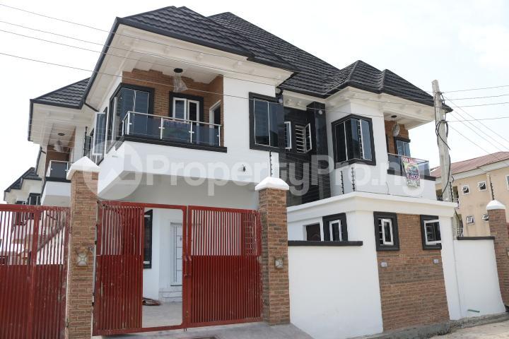 4 bedroom Semi Detached Duplex House for sale Canal West Estate Osapa london Lekki Lagos - 0