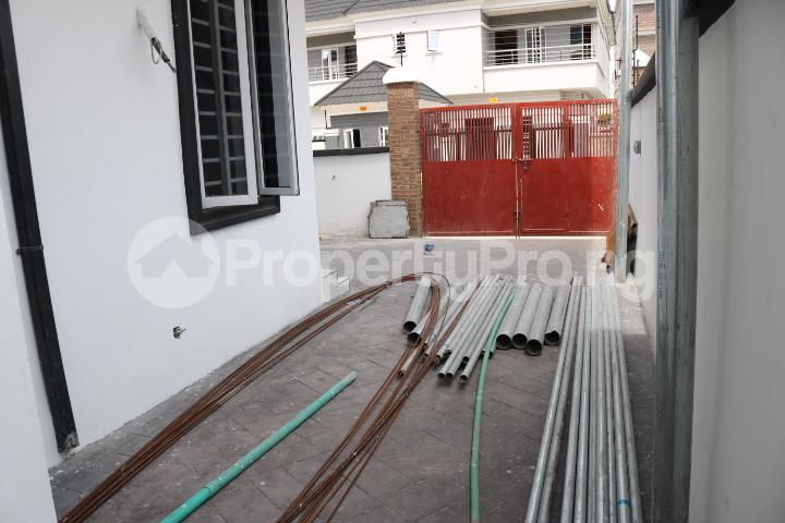 4 bedroom Semi Detached Duplex House for sale Canal West Estate Osapa london Lekki Lagos - 4