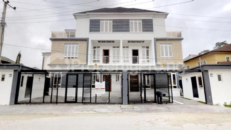 5 bedroom Semi Detached Duplex House for sale Chief Bamidele Eletu Street Osapa london Lekki Lagos - 0