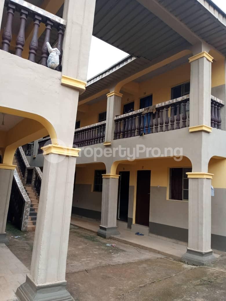 1 bedroom mini flat  School Commercial Property for rent 2nd Bawark, Auchi Polytechnic, Auchi  Etsako Central Edo - 1