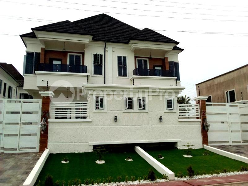 4 bedroom Semi Detached Duplex House for sale Chevy View Estate chevron Lekki Lagos - 1