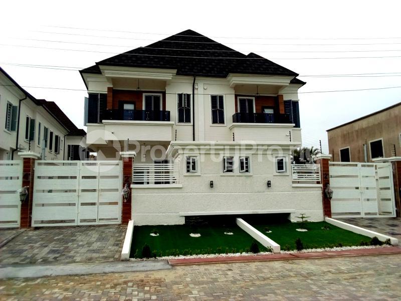 4 bedroom Semi Detached Duplex House for sale Chevy View Estate chevron Lekki Lagos - 2