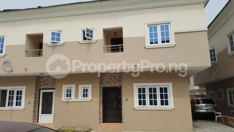 4 bedroom Semi Detached Duplex House for sale Beacon Court Igbo-efon Lekki Lagos - 1