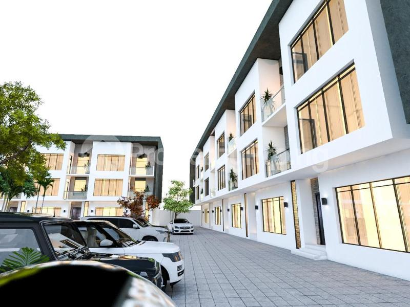 5 bedroom Terraced Duplex House for sale Winterfell Estate Olaleye New Town Estate Iponri Iponri Surulere Lagos - 1