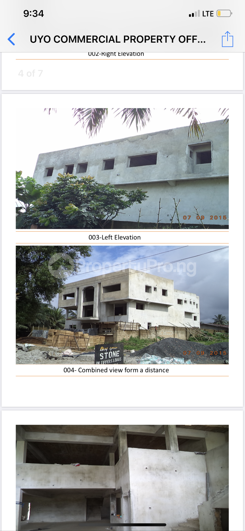 Commercial Property for sale Udo udoma Avenue  Uyo Akwa Ibom - 1