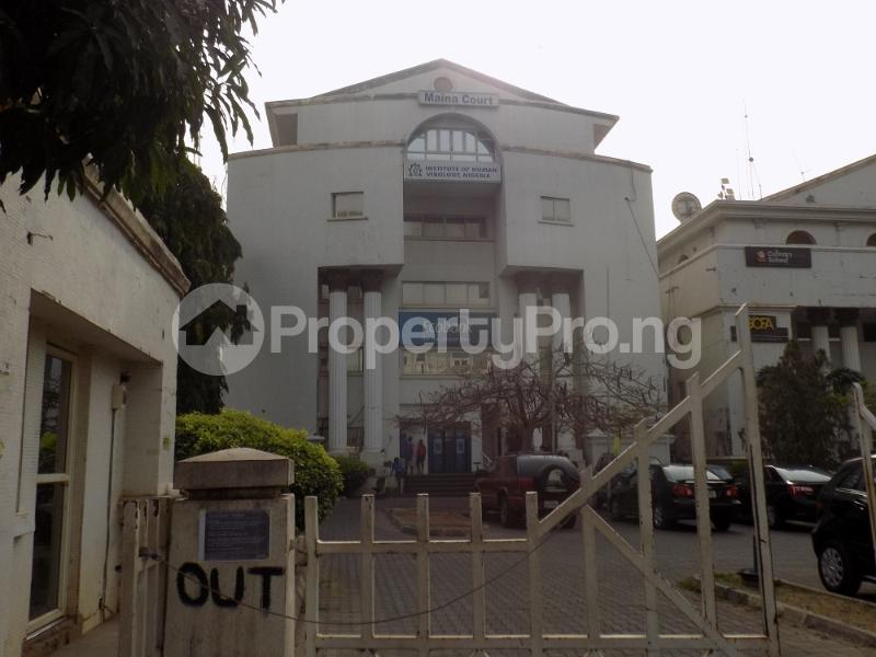 10 bedroom Office Space Commercial Property for sale Maina Court along NNPC Tower, Cadastral Zone, Central area, Abuja Central Area Abuja - 0