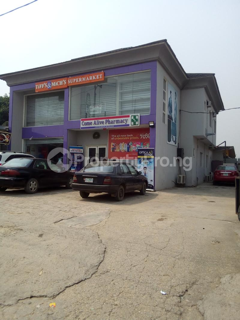 1 bedroom mini flat  Show Room Commercial Property for rent General Hospital Road Soluyi Gbagada Lagos - 0